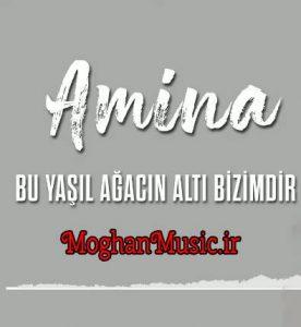 دانلود آهنگ ترکی امینه به نام بو یاشیل آغاجین آلتی بیزیمدی