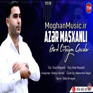 دانلود آهنگ ترکی آذر ماشخانلی به نام گجلر