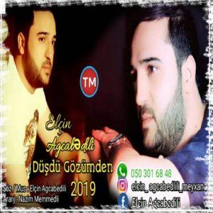 Elcin Agcabedili Dusdu Gozumden 300x300 - دانلود آهنگ ترکی الچین آقجابدیلی به نام دوشدو گوزومدن