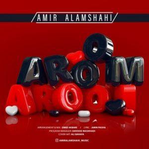 amir alamshahi aroom aroom 300x300 - دانلود آهنگ جدید امیر علمشاهی به نام آروم آروم